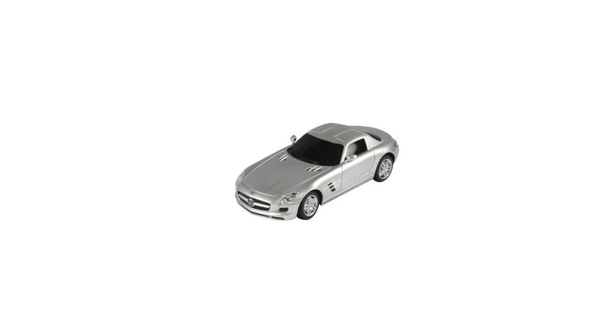Jamara Mercedes SLS AMG 1:24 zilver 27MHz