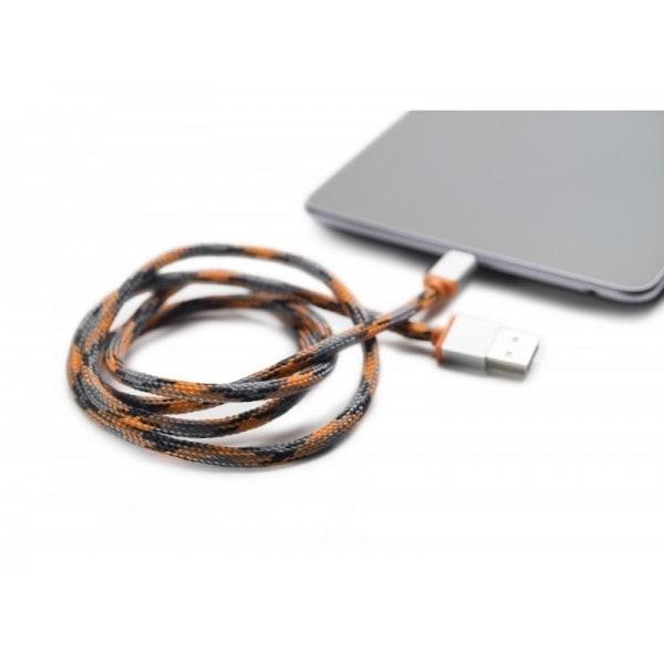 Boompods Retrokabel (1 meter) - Micro USB - Oranje