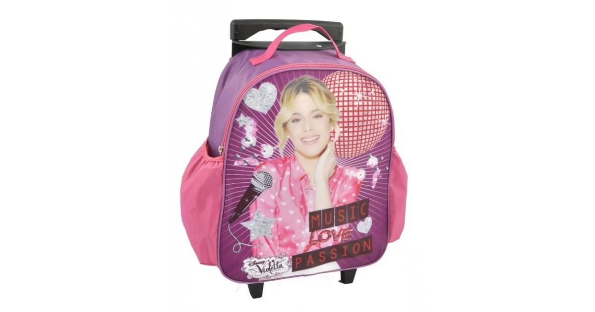 Disco Love Violetta Medium Trolley