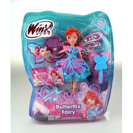 Winx Club - Pop Butterflix Fairy Bloom 26 cm