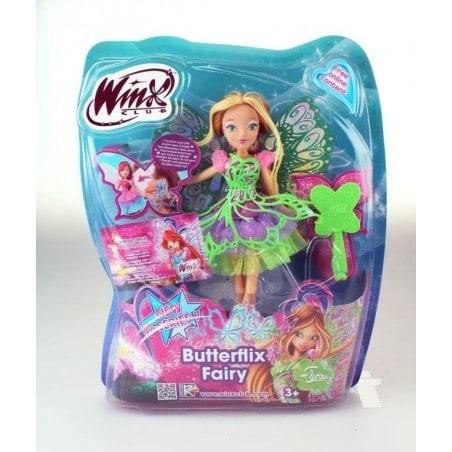 Winx Club - Pop Butterflix Fairy Flora 26 cm