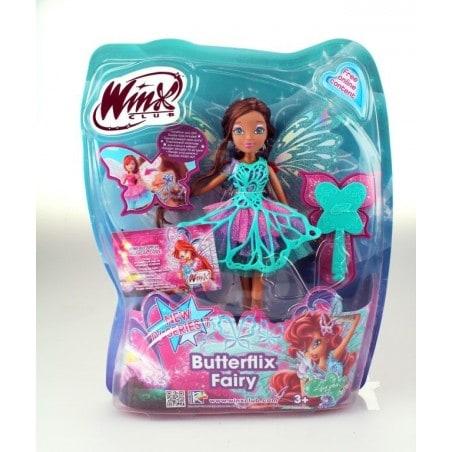 Winx Club - Pop Butterflix Fairy Layla 26 cm