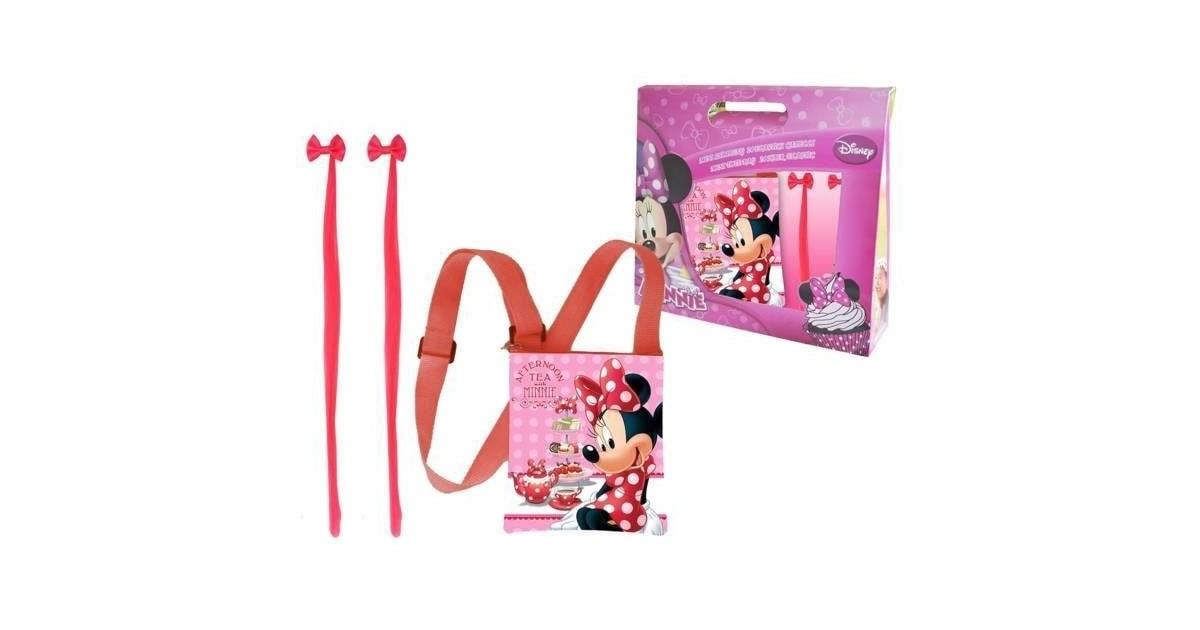 Minnie Mouse Gift Kids Schoudertas + Haaraccessoires