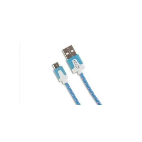 Media-Tech Micro USB Cable 2 meter - Blue
