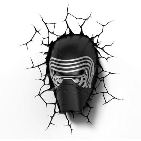 Star Wars 3D Lamp Kylo Ren