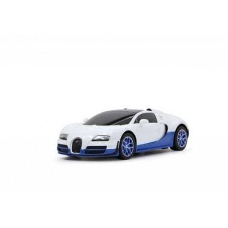 Jamara Bugatti GrandSportVitesse1:24 white 27MH
