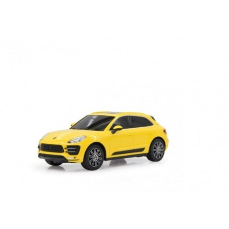 Jamara Porsche Macan Turbo 1:24 yellow 27MHz