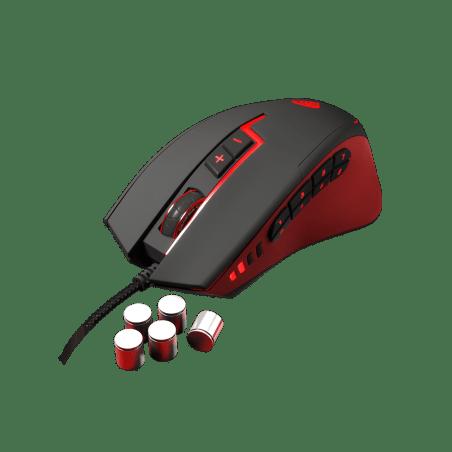 Genesis PC Gaming Muis GX85 - MMO - Laser