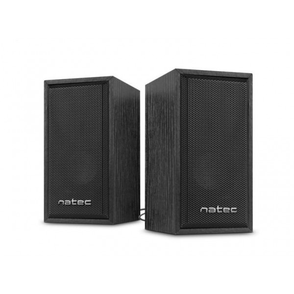 Natec Panther 2.0 Speaker - usb- zwart