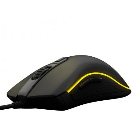 Ozone Neon M50 full RGB optische gaming muis 5000 dpi zwart