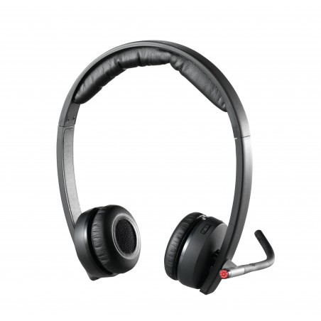 Logitech H820e Mono Wireless Headset met een bereik van 100 meter