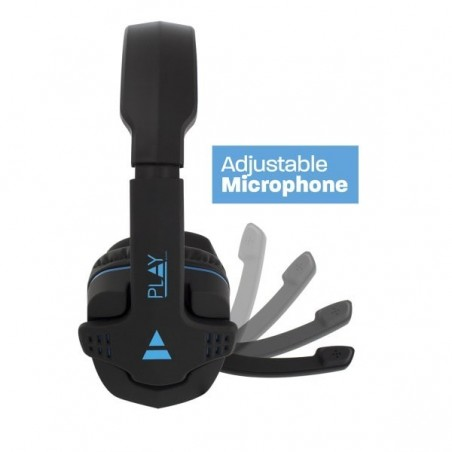 EWENT PL3320 Comfortabele over-ear Gaming Headset