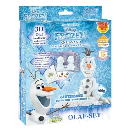 Magic Sand - Olaf-Set - FROZEN - ca. 200g zand