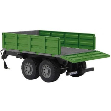 Jamara - Aanhanger met Kiepfunctie - voor Fendt 1050 Tractor