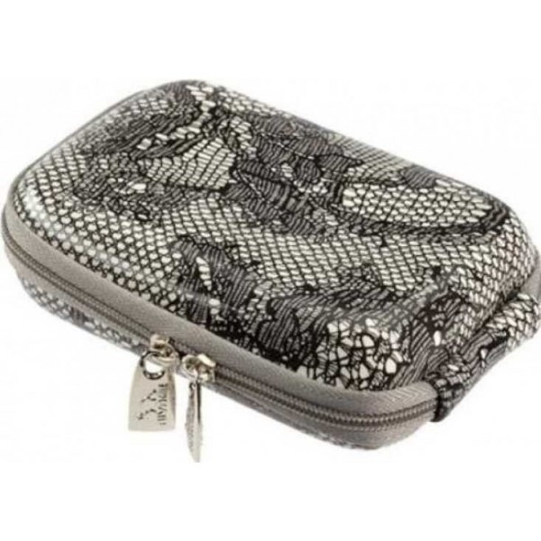 Rivacase 7103 (PU) Digital Case grey (lace)
