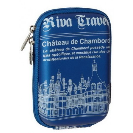 Riva 7103 (PU) Digital Case light blue Chambord (travel)