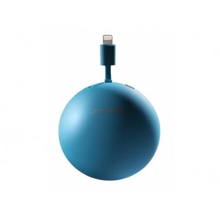Boompods Power Banks 2300mAh Powerpod iphone  5/5s/5c - Blauw