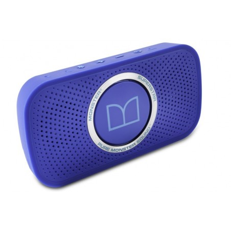 Monster SuperStar HD Bluetooth Speaker Neon Blauw