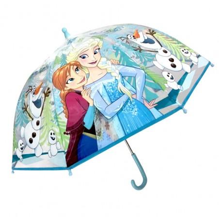 Frozen Paraplu - Handmatig - Diameter 90 CM - Koepelvormige kinderparaplu