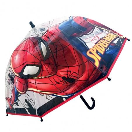 Spiderman - Koepelvormige kinderparaplu - Diameter 90 CM