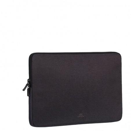 Rivacase - Laptop sleeve - 13,3 inch - zwart