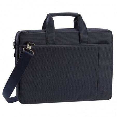 RivaCase - Laptop Schoudertas - 15.6 Inch - Extra vak voor tablet - Blauw