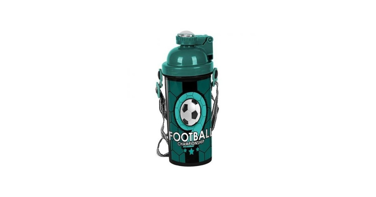 Voetbal drinkbeker championship – Groen en Zwart