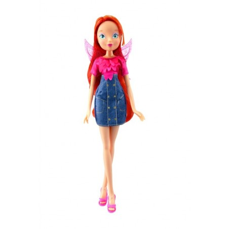 Winx: Denim Fairy - Pop - Bloom - 28 cm groot