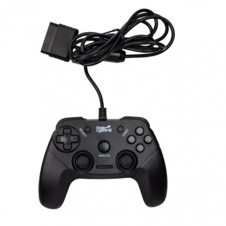Under Control - Playstation 2 Controller - Bedraad - 1.8M - Zwart