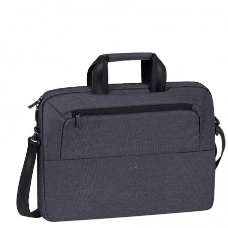 RivaCase Laptop Schoudertas - 15.6 Inch - Antraciet
