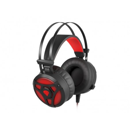 Genesis Neon360 stereo headset met backlight en vibratie