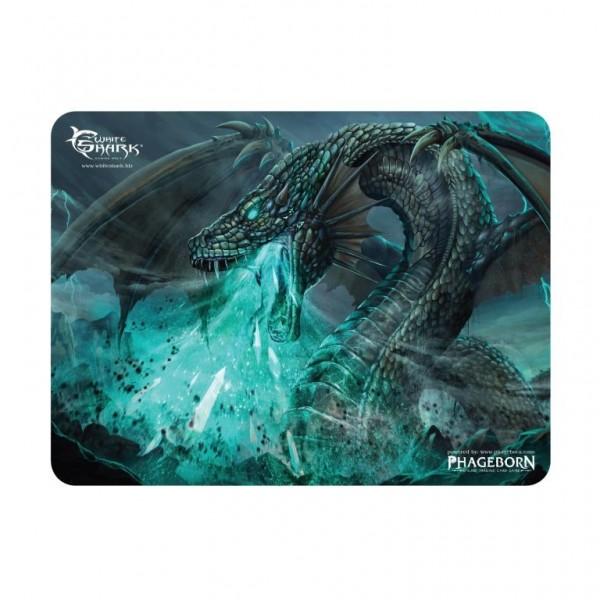 White Shark Energy Gorger - Gaming muismat - 250 x 200 mm