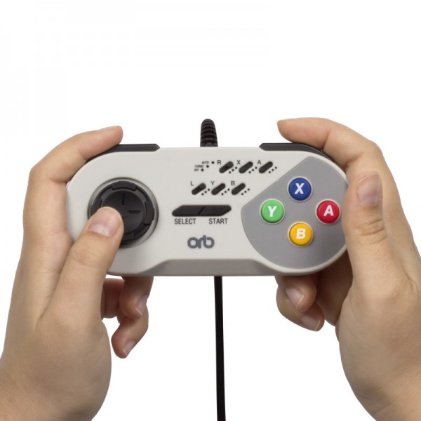 SNES TURBO WIRED CONTROLLER