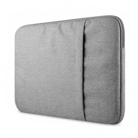 Tuff-luv - Nylon beschermhoes voor een 13 inch laptop-notebook - grijs