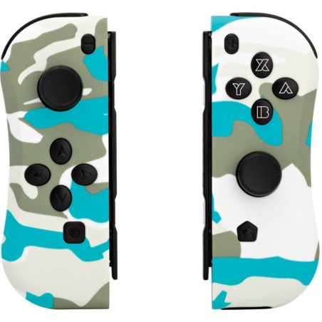 Under Control - Nintendo Switch Joycon Controllers - Snow White Camo