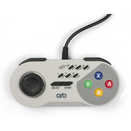 Nintendo SNES Mini - Bedrade Retro Controller - Grijs