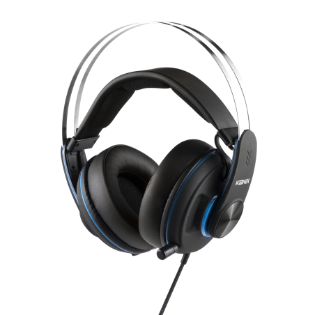 Konix - Gaming Headset PS-600 - Playstation 4 - Zwart - Blauw