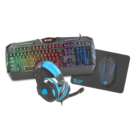 Fury Thunderstreak - PC Gaming combo 4 in 1 set V2