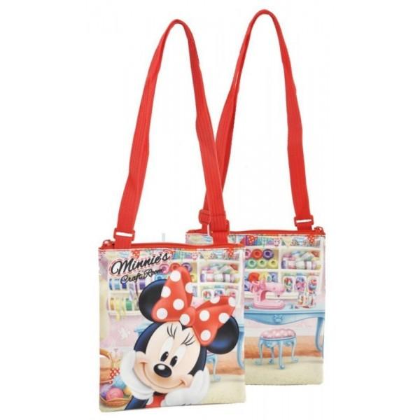 Minnie Mouse Craft Room Schoudertas