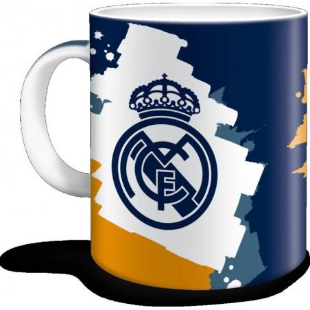 Real Madrid - Mok - Blauw en oranje