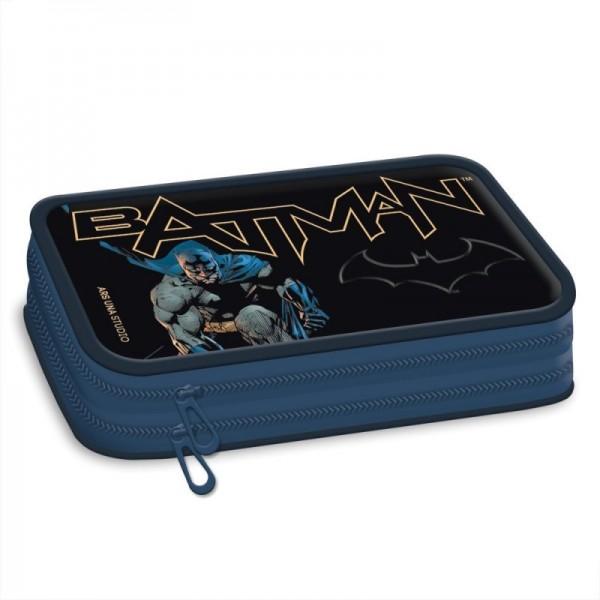 Batman - Etui - 2 vakken - Blauw