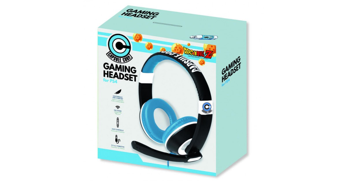 Dragon Ball Z Stereo Headset  voor PS4