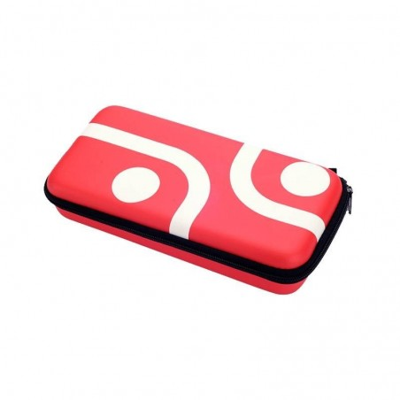 Armour Case + Screen Protector - rood voor Nintendo SWITCH
