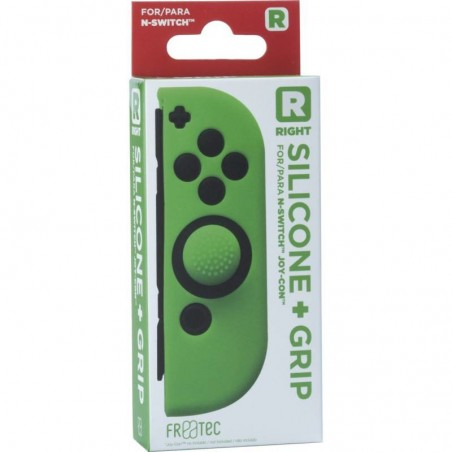 Joy Con Silicone Skin + Grip - Right - groen voor Nintendo SWITCH