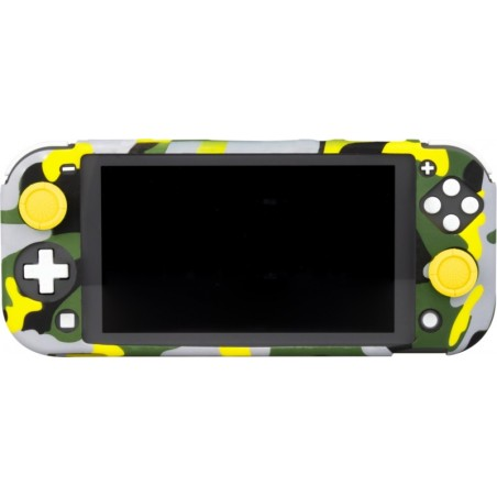 Nintendo Switch Lite Body Silicone Skin met thumbgrips Thunderbolt