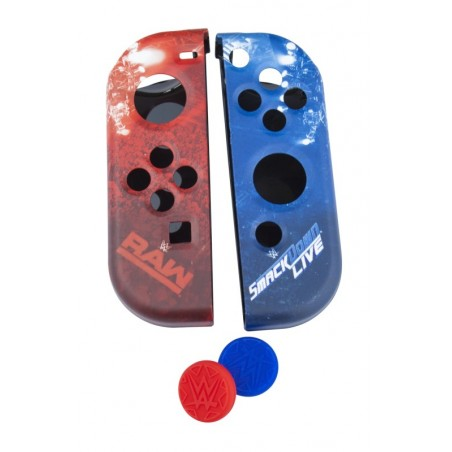 Nintendo Switch - WWE - Joy Con Controller Hoesjes - Silicone grips