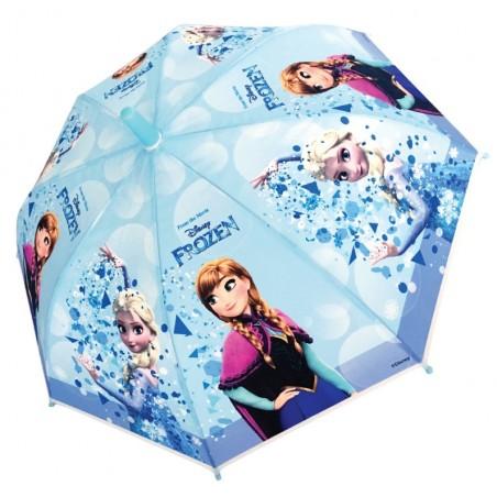 Frozen - Paraplu - metalen frame - 92 cm - Blauw- automatic