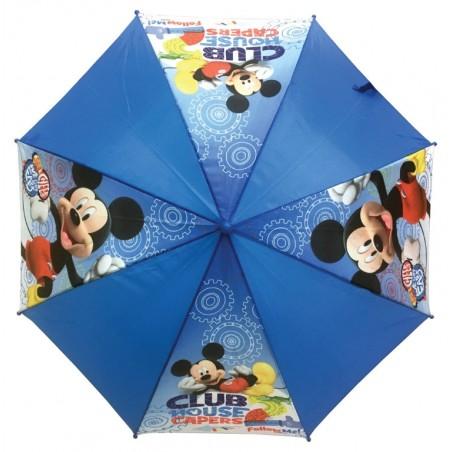 Mickey Mouse - Paraplu - 92 cm - Blauw