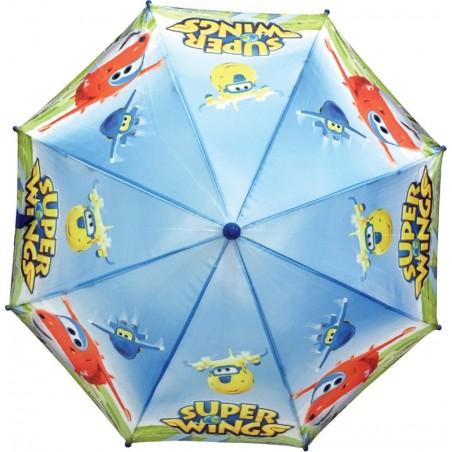 Superwings - Paraplu - 74 cm - Veelkleurig