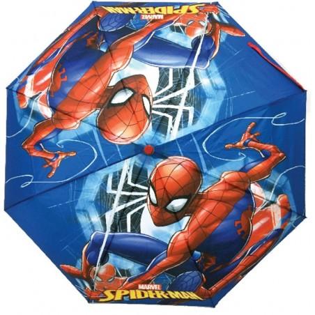 Spiderman - Paraplu - Polyester - 92 cm - Blauw